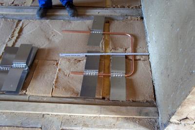 Balken Fußboden Dämmen ~ Fußbodenheizung in einer holzbalkendecke